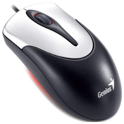 Мышь Genius NetScroll 100 v2 черный+серебристый
