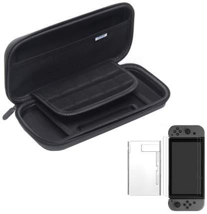 Защитный чехол Nintendo Carrying Case and Screen Protector Black для Nintendo Switch