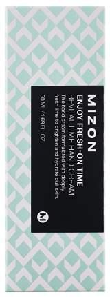 Крем для рук MIZON Enjoy Fresh On-Time Revital Lime Hand Cream 50 мл