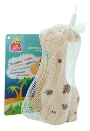 Игрушка для купания Lubby Жираф пищалка