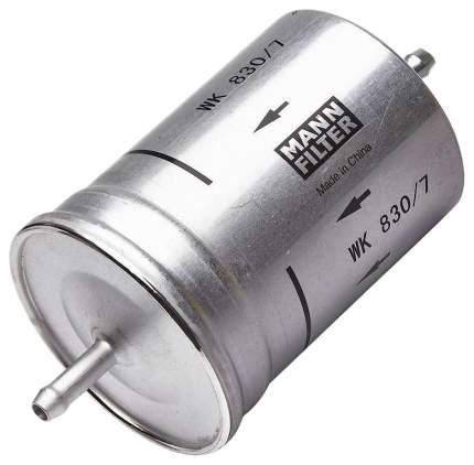 Фильтр топливный MANN-FILTER WK830/7