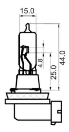 Лампа галогенная SCT 65W PGJ19-5 202983