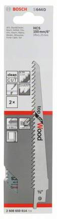 Полотно универсальное Bosch S 644 D 2608650614