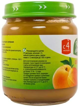 Пюре фруктовое Расти большой Абрикос (с 4 месяцев) 100 г