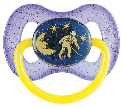 Пустышка классическая Canpol Babies Space латексная круглая (с 6 мес)