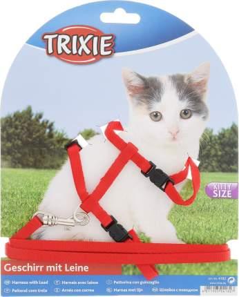 Шлейка для кошек Trixie с поводком для котят нейлон
