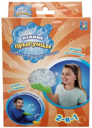 Мыльные пузыри 1 TOY 2 в 1 пенные прыгунцы Т10345