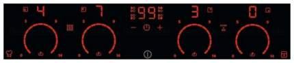 Встраиваемая варочная панель индукционная Electrolux EHXD675FAK Black