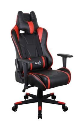 Игровое кресло AeroCool AC220 AIR, красный/черный