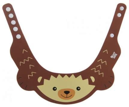 Козырек защитный для мытья головы Roxy-Kids коричневый ёжик