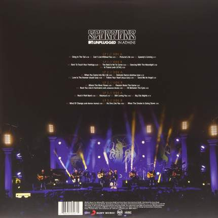 Виниловая пластинка Scorpions MTV UNPLUGGED IN ATHENS (180 Gram)