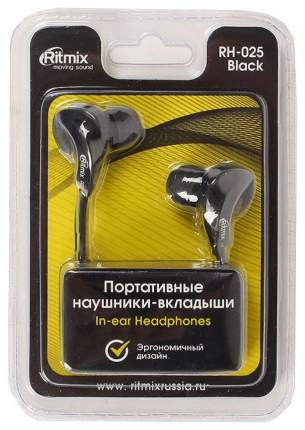 Наушники Ritmix RH-025 Black