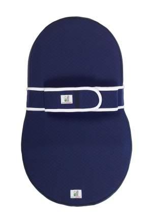 Кокон-матрас Dolce Cocon для новорожденных, синий