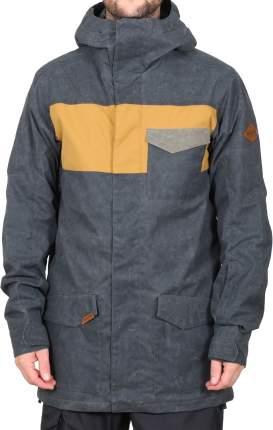 Куртка Dakine 10/10 Elsman, black/buckskin/tarmac, L INT