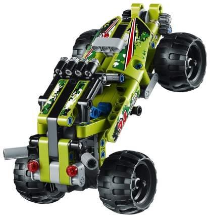 Конструктор пластиковый Decool Гоночная машина - Необитаемый