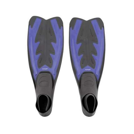 Ласты для плавания Submarine Hyper DRF-F367, размер 38-39, синие