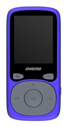 Портативный медиаплеер Digma B4 Blue