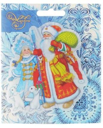Украшение новогоднее Феникс-Презент Дед Мороз, Снегурочка и зайчики