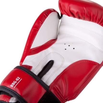 Боксерские перчатки БоецЪ BBG-02 красные 16 унций