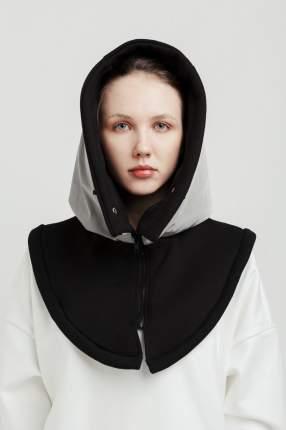Шапка-капюшон женская UNU clothing 6100219 серая