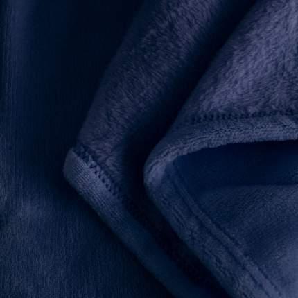 Детский плед велсофт  90х110  темно-синий, UNDER the BLANKET, PV90110DB