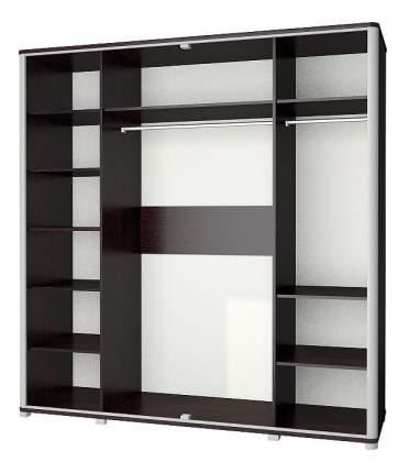 Платяной шкаф Мебель-Неман Наоми МН-021-04 NEM_MH-021-04 204x63x212, дуб ниагара/серый