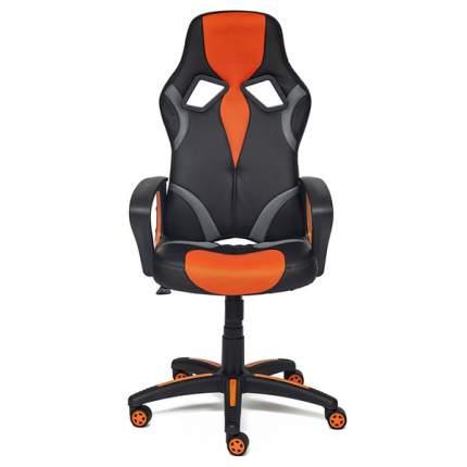 Кресло TetChair Runner черный+оранжевый