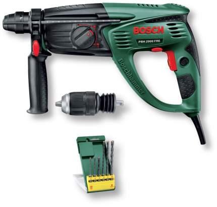 Сетевой перфоратор Bosch PBH 2900 FRE + 6 pcs 603393104
