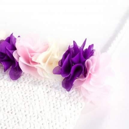 Сумка для девочек COCCODRILLO плетеная белая