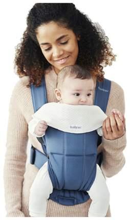 Рюкзак для новорожденных BabyBjorn Mini Cotton Индиго