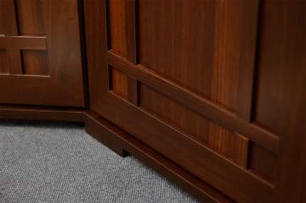 Платяной шкаф Hoff Sherlock 80296365 40х210,7х57,9, орех шоколадный
