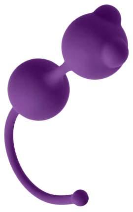 Фиолетовые вагинальные шарики Emotions Foxy