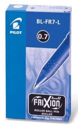 "Ручка стираемая гелевая PILOT ""Frixion"", корпус синий, узел 0,7 мм, линия 0,35 мм, синяя"