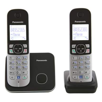 Телефон DECT Panasonic KX-TG6812RUB