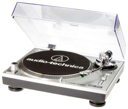 Проигрыватель виниловых дисков Audio-Technica AT-LP120BK-USBHS10 Серый/Черный