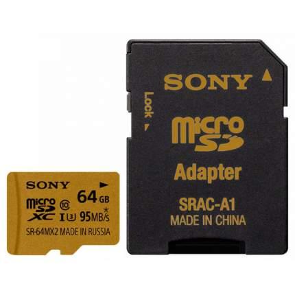 Карта памяти Sony SDXC SR-64MX2A/NT 64GB