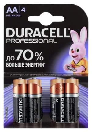 Батарейка Duracell Professional LR6/MN1500 4 шт