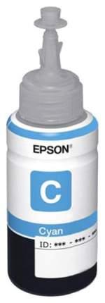Чернила для струйного принтера Epson C13T67324A, голубой, оригинал