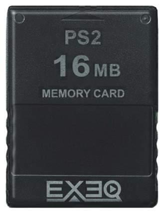 Память для игровой приставки Exeq EQ-PS2-16MB Черный