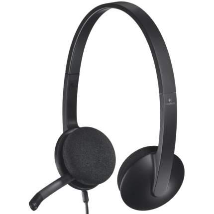 Гарнитура для компьютера Logitech Stereo Headset H340 Black (981-000475) Black