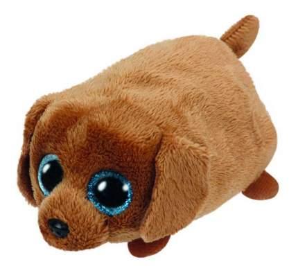 Мягкая игрушка TY Teeny Щенок (коричневый) Spangle 10 см