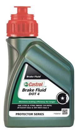 Тормозная жидкость Castrol Brake Fluid DOT4 0.5л 155BD0