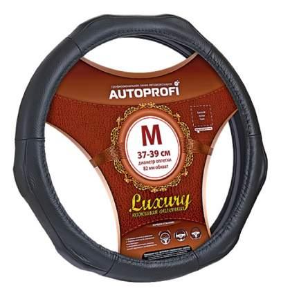 Оплетка на руль Autoprofi Luxury AP-1020 BK (M)