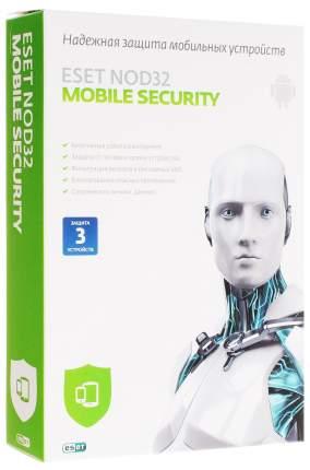Антивирус ESET NOD32 Mobile Security на 3 устройства 12 мес.