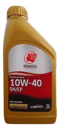 Моторное масло Idemitsu S-S SN/CF 10W-40 1л
