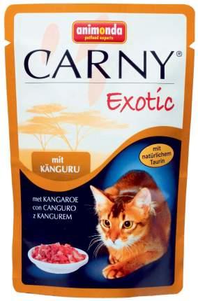 Влажный корм для кошек Animonda Carny Exotic, кенгуру, говядина, 12шт, 85г