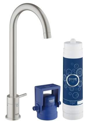 Смеситель для кухонной мойки Grohe Blue Pure 31301DC1 суперсталь