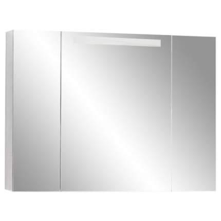 Шкаф-зеркало для ванной Акватон Мадрид 100, белый (1A111602MA010)