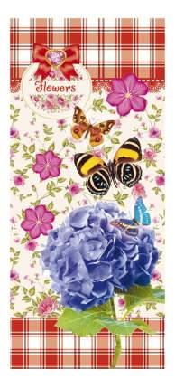 Пенал Проф-Пресс Средний. Мир цветов и бабочек