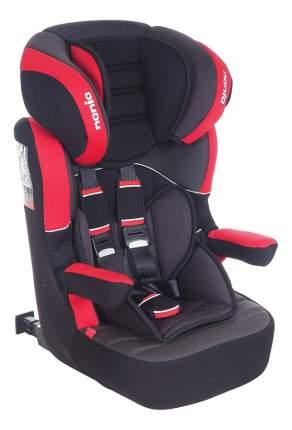 Автокресло Nania Myla Isofix Premium группа 1/2/3, Черный-Красный